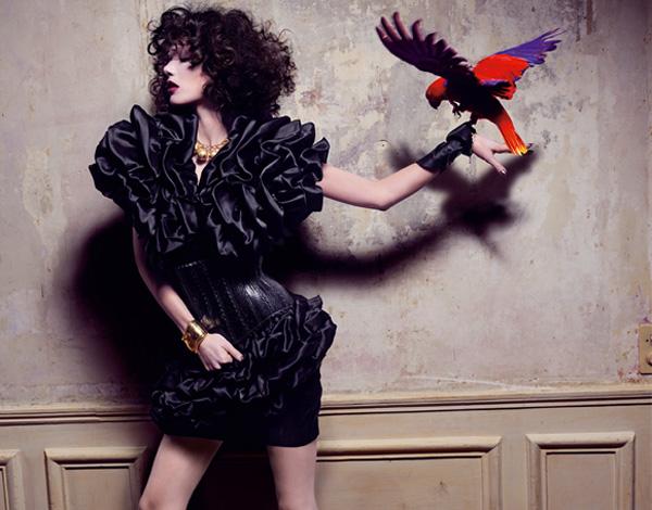 V Magazine Spain April 2010 Preview | Sheila Marquez by Nico