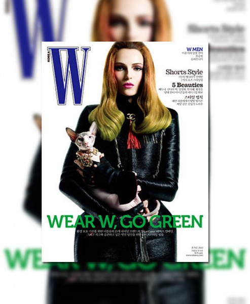 W Korea June 2010 Cover | Valentina Zelyaeva by Jeffrey Graetsch