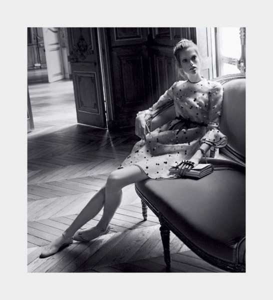 Valentino Spring 2011 Campaign Preview | Julia Saner by David Sims