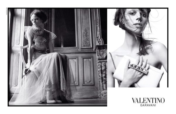 Valentino Spring 2011 Campaign | Freja Beha Erichsen, Caroline Brasch-Nielsen & Julia Saner by David Sims