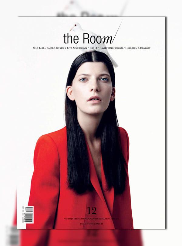 The Room #12 F/W 2010 Cover | Valerija Kelava by Marton Perlaki