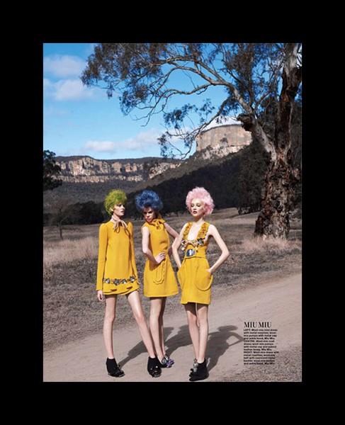 Valley of the Dolls by Simon Upton for Harper's Bazaar Singapore September 2010