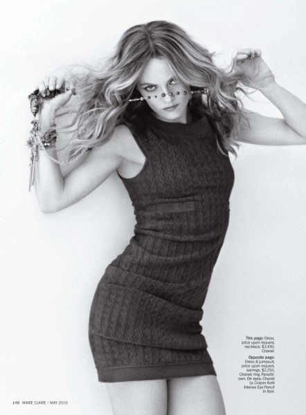 Vanessa Paradis by Matt Jones | Marie Claire US May 2010