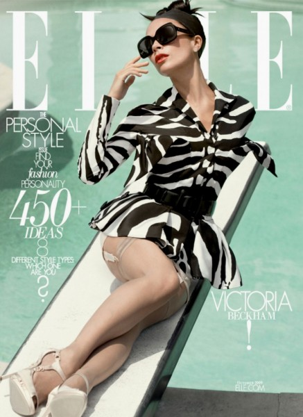 Elle US October 2009 Subscriber Cover | Victoria Beckham