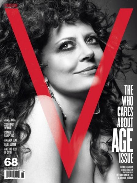 <em>V Magazine</em> #68 Covers | Jane Fonda, Susan Sarandon &#038; Sigourney Weaver by Inez &#038; Vinoodh