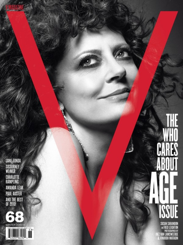 V Magazine #68 Covers | Jane Fonda, Susan Sarandon & Sigourney Weaver by Inez & Vinoodh