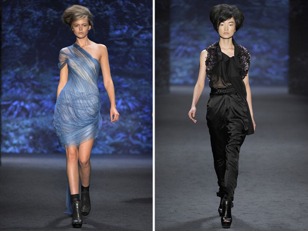 Vera Wang Spring 2011 | New York Fashion Week