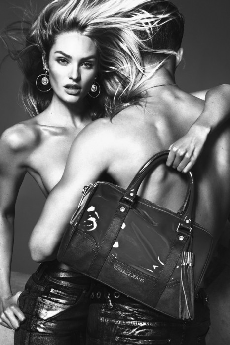 Candice Swanepoel Smolders in Versace Jeans' Fall 2012 Campaign by Mert & Marcus