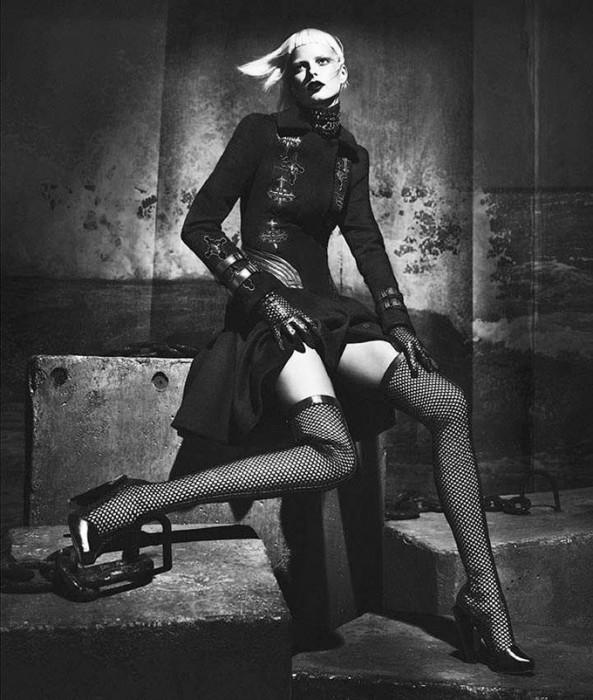 Versace's Fall 2012 Campaign Stars Dutch Face Elza Luijendijk, Shot by Mert & Marcus