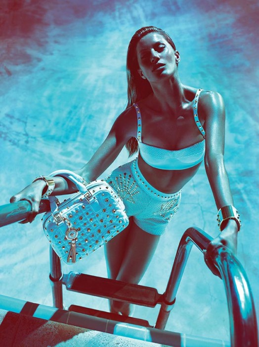 Gisele Bundchen for Versace Spring/Summer 2012 Campaign by Mert & Marcus