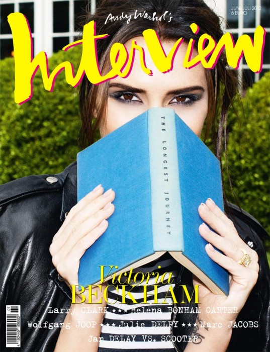 Victoria Beckham is Book Smart for Interview Germany's June/July 2012 Cover