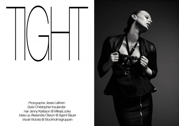 Victoria by Jesse Laitinen in Acne for Fashion Gone Rogue