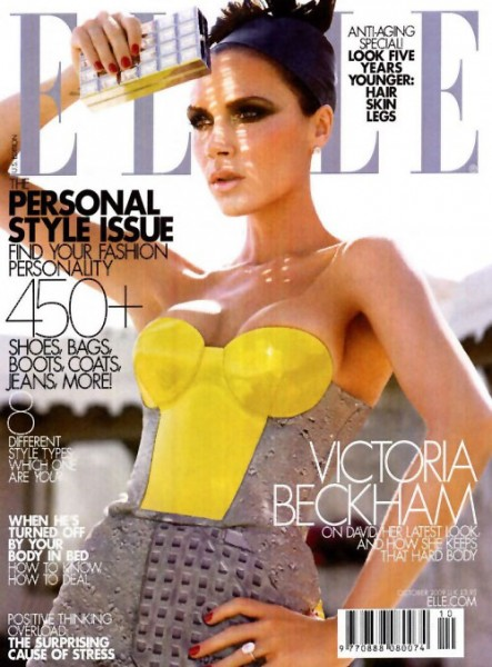 Elle US October 2009 – Victoria Beckham
