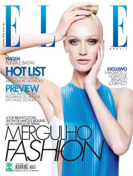 Viviane Orth for <em>Elle Brazil</em> January 2011
