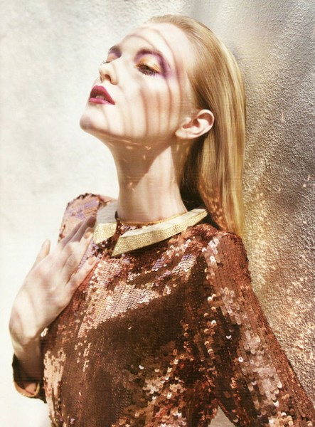 Vlada Roslyakova by Marcin Tyszka for <em>Vogue Portugal</em> July 2010