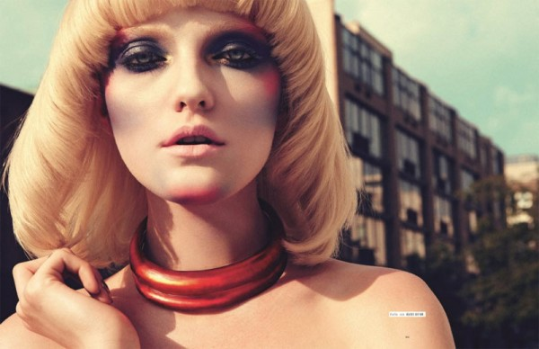 Vlada Roslyakova by Nagi Sakai for <em>Tush</em> #26
