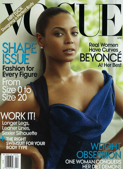 Beyoncé for Vogue US April