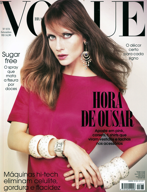 Vogue Brazil | Ana Cláudia Michels by Jacques Dequeker