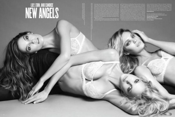 Snap! | Candice Swanepoel, Erin Heatherton & Lily Aldridge for <em>V</em> #69