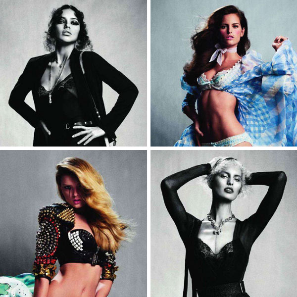 Victoria's Secret Models by Inez & Vinoodh for <em>Vogue Paris</em> March 2011