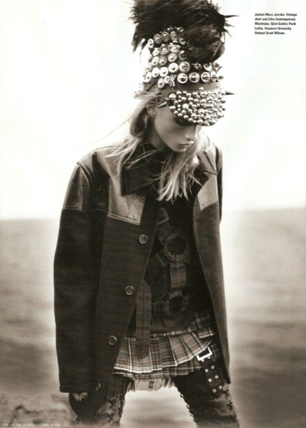 Anna Selezneva is An 'Eco-Warrior' for i-D Fall 2009