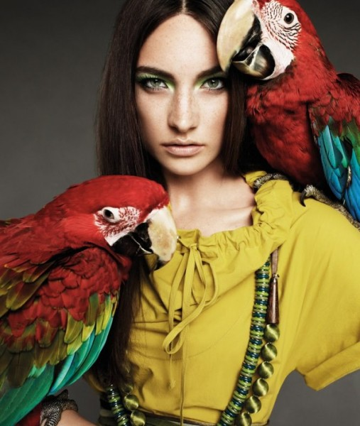 Jacquelyn Jablonski for Weekend by Max Mara Spring 2011 Campaign by Alexi Lubomirski