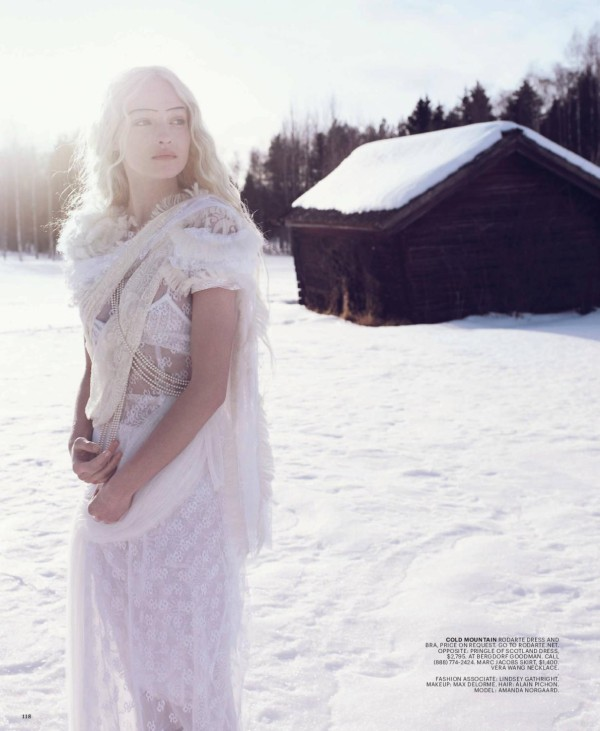 Amanda Norgaard by Sanchez & Mongiello in Winter Sonata | New York Times Style Winter 2010