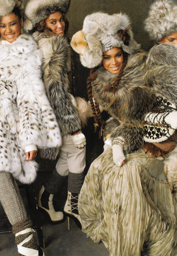 We Are the World by Steven Meisel for Vogue US September 2010