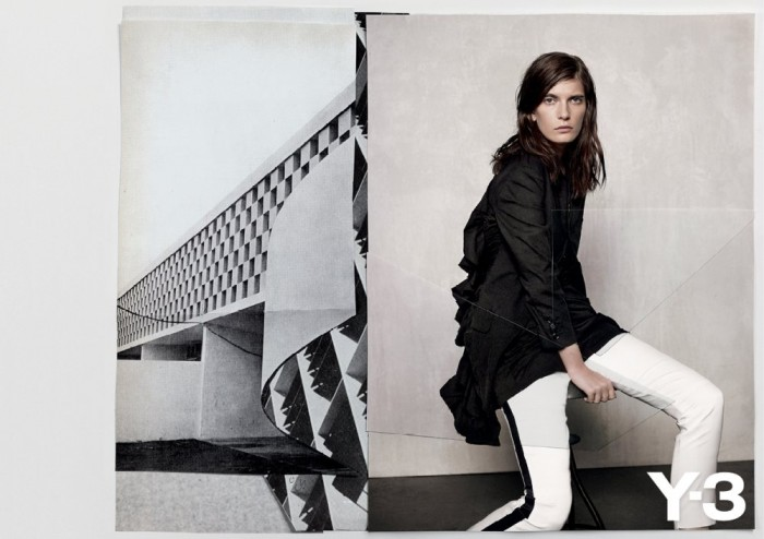 Valerija Kelava for Y-3 Spring 2012 Campaign by Collier Schorr
