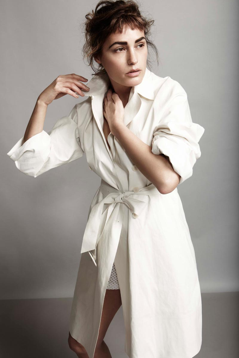 Yasmin le Bon by Robert Harper for Playing Fashion April 2012