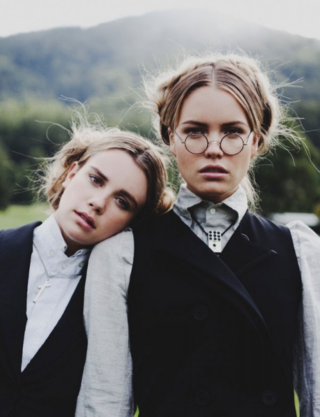 Elaina Musto & Emily Gillies by Zac Steinic for <em>Yen Magazine</em> #45