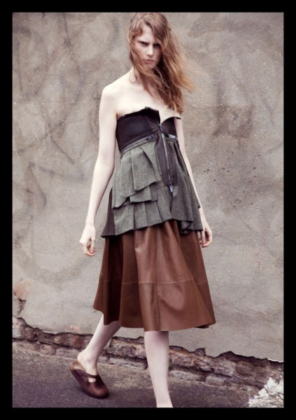 Ylonka Verheul by Carlotta Manaigo for <em>i-D</em> Fall 2010