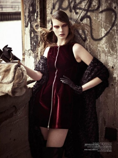 Ylonka Verheul by Mariano Vivanco for <em>Vogue Turkey</em> January 2011