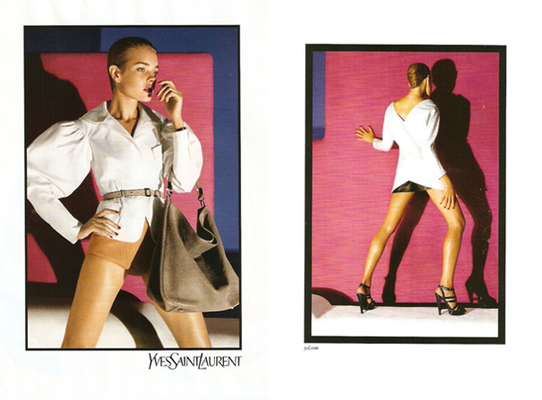 Yves Saint Laurent Spring 2010 Campaign Preview | Natalia Vodianova by Inez & Vinoodh