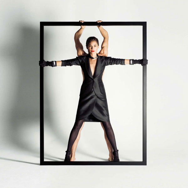 Campaign | Christy Turlington for YSL Fall 2009 by Inez & Vinoodh