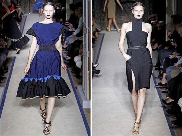 Yves Saint Laurent Spring 2011 | Paris Fashion Week