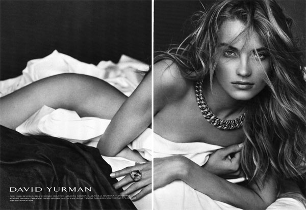 Campaign | Anna Jagodzinska for David Yurman Fall 2009