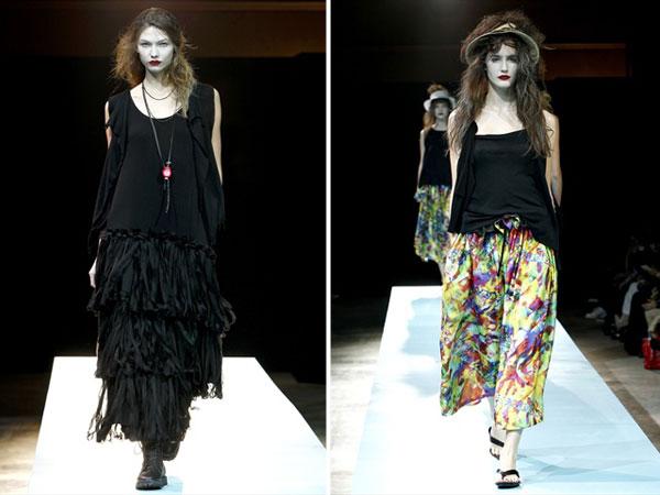 Yohji Yamamoto Spring 2011 | Paris Fashion Week