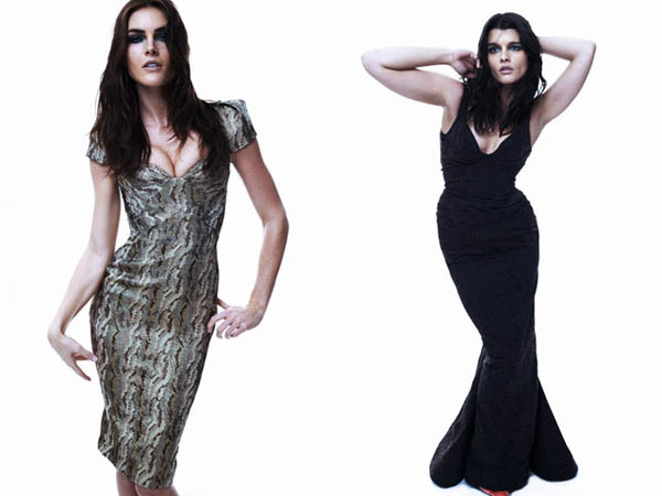 Zac Posen Pre-Fall 2011: Crystal Renn & Hilary Rhoda