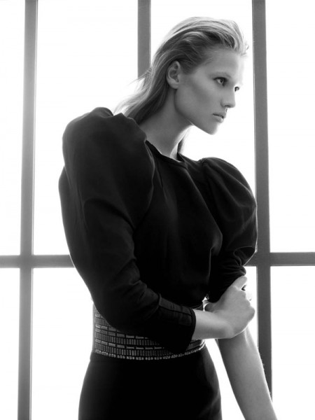 Campaign | Toni Garrn for Zara Fall 2009 by David Sims