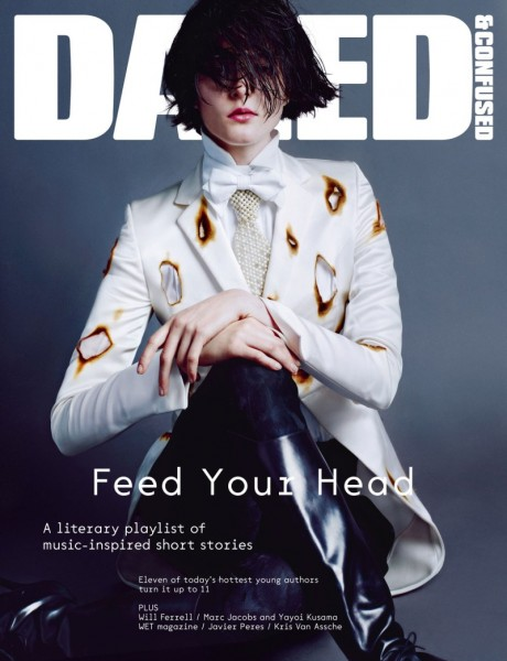 Zenia Sevastyanova Smolders in Giles for Dazed & Confused's July 2012 Cover
