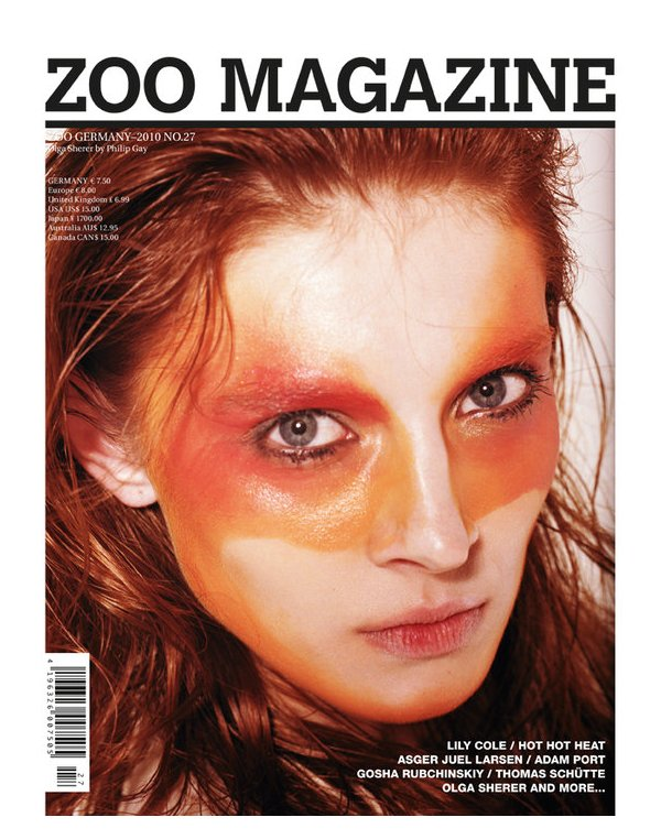Zoo Magazine Summer 2010 Covers | Olga Sherer & Lily Cole