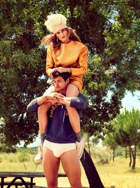 Dimphy Janse by Hunter &#038; Gatti for <em>Vogue Spain</em> January 2012