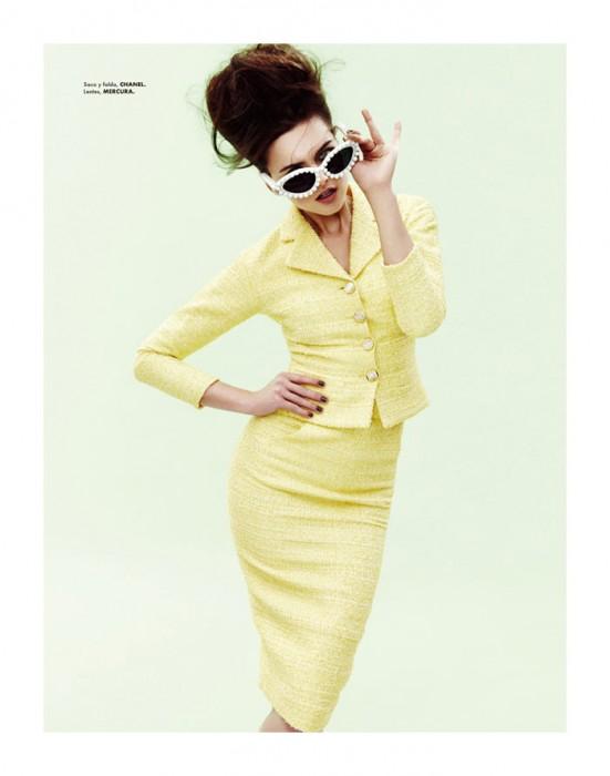 Zuzana Gregorova by Takahiro Ogawa for Elle Mexico April 2012