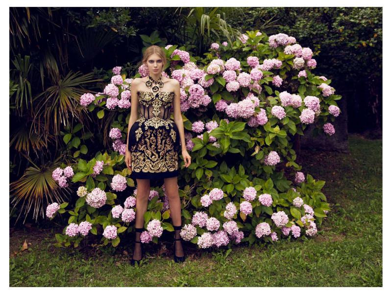 Dolce & Gabbana is Celebrated in Marie Claire Czech by Dennison Bertram