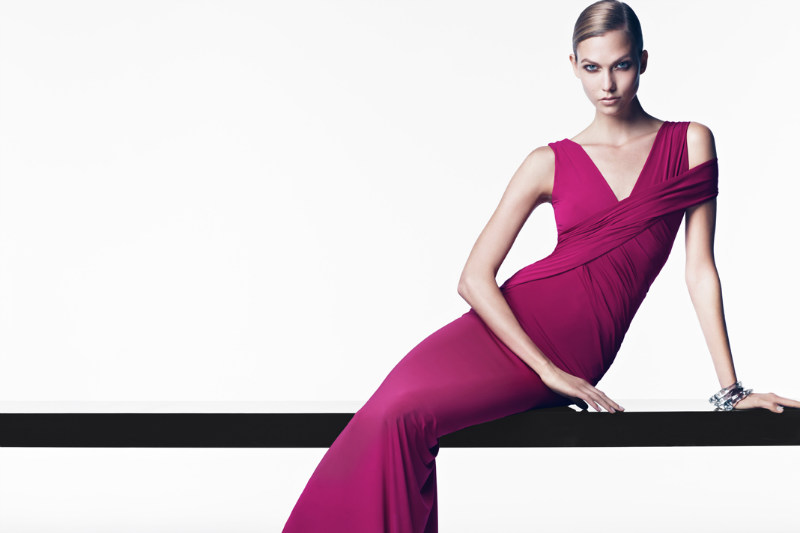 Karlie Kloss Plays Sleek and Sensual for the Donna Karan Resort 2013 Campaign and Film