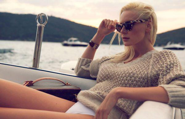Sedef Delen Lenses Cozy Knitwear for L'Officiel Turkey October 2012