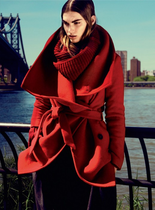 Irina Nikolaeva Dons Bold Cuts for Elle Mexico October 2012 by Kevin Sinclair