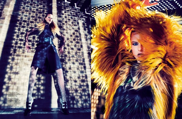 Gan Captures Vera Luijendijk in Fendi for Harper's Bazaar Singapore October 2012