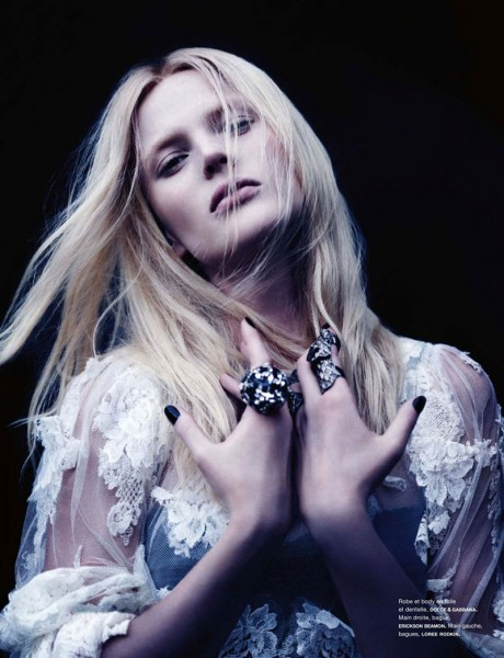 Anne Vyalitsyna Poses for Ben Hassett in Numéro #137